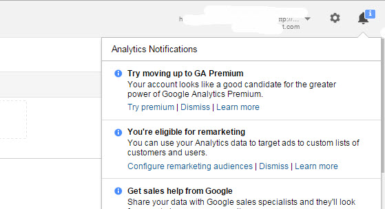 GA Premium Advertising in-account